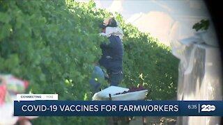 Farmworkers vaccine clinic