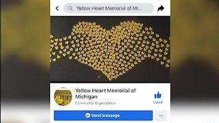 Yellow Heart Memorial in Michigan