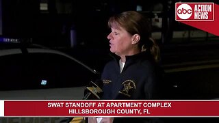 PRESSER: Man in custody after SWAT standoff at a Town 'n' Country apartment complex