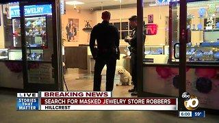 Police respond to jewelry store robbery