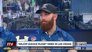 Major League Rugby on Feb. 15