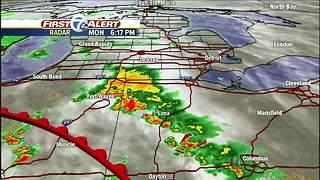Metro Detroit forecast: Heavy rain tonight, tomorrow