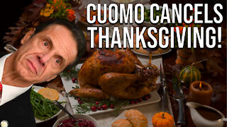 Governor Cuomo Cancels Thanksgiving!