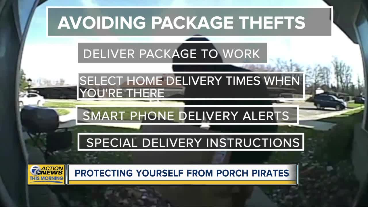 Protecting yourself from porch pirates