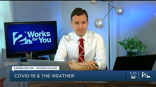 Problem Solvers Coronavirus Hotline: COVID-19 and the Weather