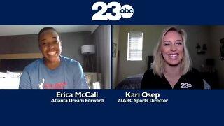 Kari Osep goes one-on-one with Erica McCall