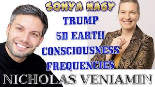 Sonya Nagy Discusses Trump, 5D Earth, Frequencies with Nicholas Veniamin