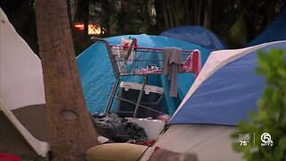 New questions over homeless camps at John Prince Park