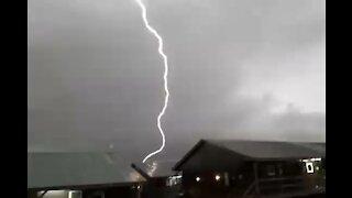 Lightning Strike at Camp Bondsteel