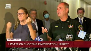 Kenosha Co. Sheriff David Beth discusses video of Jacob Blake shooting