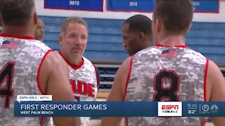 First Responder Game 3 on 3 basketball