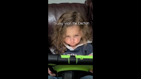Even a 2 Year old knows who Won!