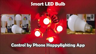 Phone control Smart LED Bulb for your Home and Pubs