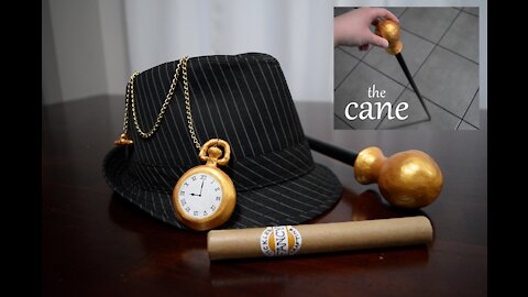 How to Make Men's 1920s Costume Props Part 1- Cane