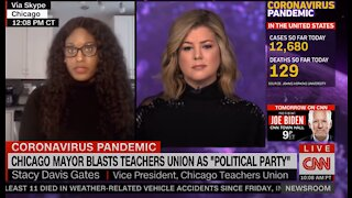 Teacher's Union VP: Opposition to Reopening is Not About CDC Guidelines