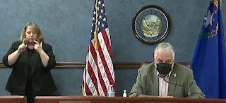 Gov. Sisolak provides update on Nevada's COVID-19 vaccine plan