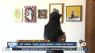 Art crawl takes over Barrio Logan Saturday