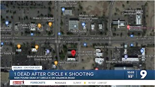 Police: Man shot, killed outside convenience store on Valencia Road