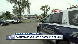 Paramedics accused of stealing drugs