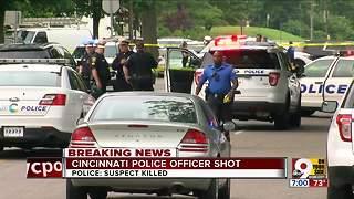 Police officer shot, suspect dead