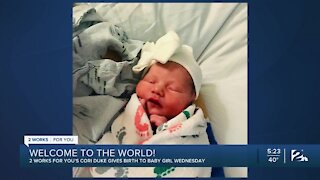 Welcome Cori's Baby!