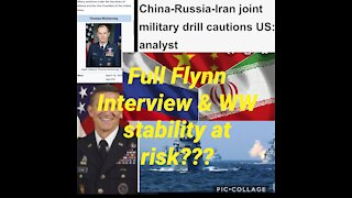 Full Flynn interview & is WW stability at risk???