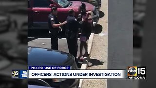 Phoenix officers' actions under investigation