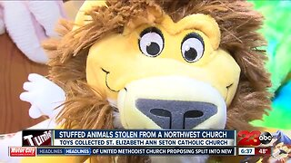 Stolen Stuffed Animals from NW Church