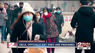 Okla. officials provide update on possible coronavirus