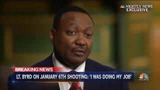 Capitol Officer Michael Byrd Defends Shooting Ashli Babbitt On January 6