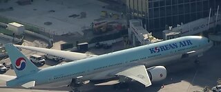 Novel coronavirus scare on Korean Air flight
