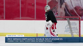 Red Wings plan to rely heavily on both Greiss, Bernier this season
