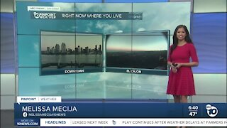 ABC 10News Pinpoint Weather for Sat. Jan. 30, 2021