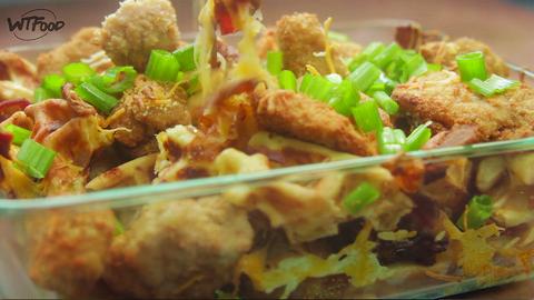Chicken Waffle Nachos