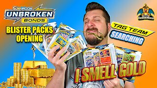 Unbroken Bonds Blister Packs | Tag Team Searching | Pokemon Cards Opening