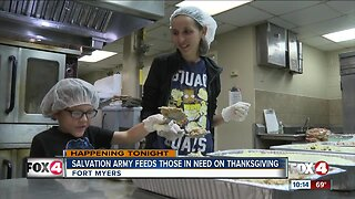 Salvation Army to serve 1,000 Thanksgiving meals to people in need