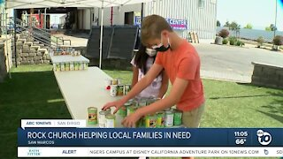 Rock Church helping local families in need