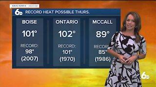 Rachel Garceau's Idaho News 6 forecast 6/1/21