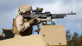3d Battalion, 8th Marine Regiment conduct live fire training