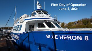 Blue Heron Cruises First Day Running