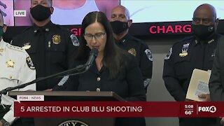 5 arrested in Club Blu case
