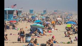 Governor Gavin Newsom closes Orange County beaches
