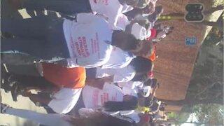 TransformSA's march against 'racist' banks under way