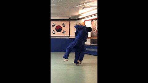 Judo Combination Practice