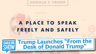 """Trump Launches """"From the Desk of Donald Trump"""""""