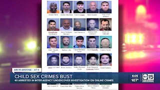 40 arrested in undercover sex trafficking operation