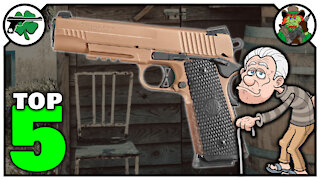 Top Five 1911 Handguns I Wished That I Owned