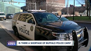 Does Buffalo Police have enough vehicles for officers?