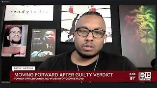 Valley Pastor Warren Stewart, Jr. reacts to Chavin guilty verdict