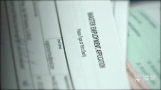 Paper applications for unemployment benefits amid COVID-19